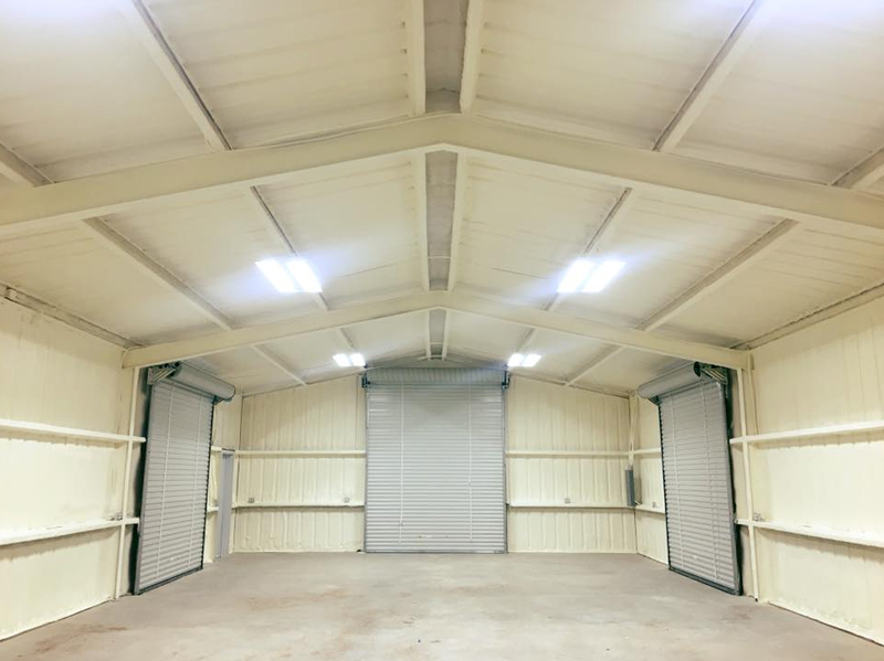 spray foam insulation and metal buildings abilene texas