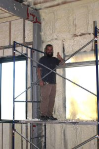 spray foam insulation and metal buildings
